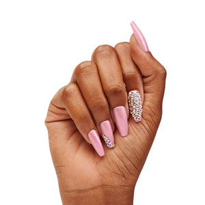 INSTANT LUXURY ACRYLIC PRESS ON NAILS- LA VIE EN ROSE