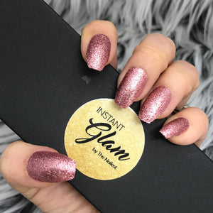 INSTANT GLAM- SUGAR ROSE GOLD GLITTER SET