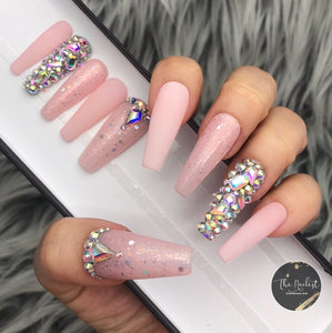 FROSTY THE PINK JEWEL CRYSTALS SET