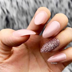 DAZZLE NUDE CAVIAR - STILETTO SUGAR GLITTER ACCENT SET