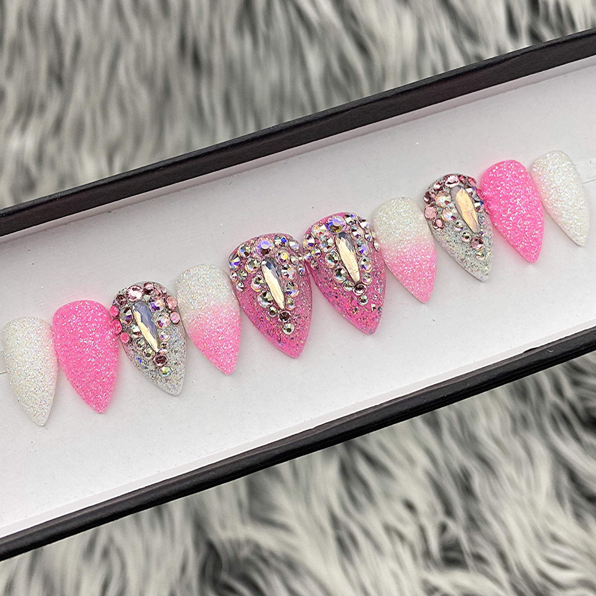 SAMPLE SET NOW- PINK BARBIE - STILETTO, SIZE 0,4,3,4,7