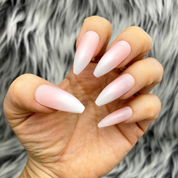 INSTANT GLAM- OMNI OMBRÉ TAPERED LONG COFFIN PRESS ON NAIL SET