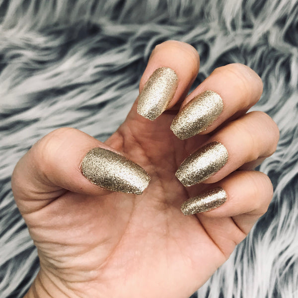 INSTANT GLAM- SUGAR GOLD GLITTER SET