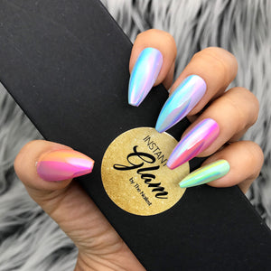 INSTANT GLAM- POLYCHROMATIC PRESS ON NAIL SET