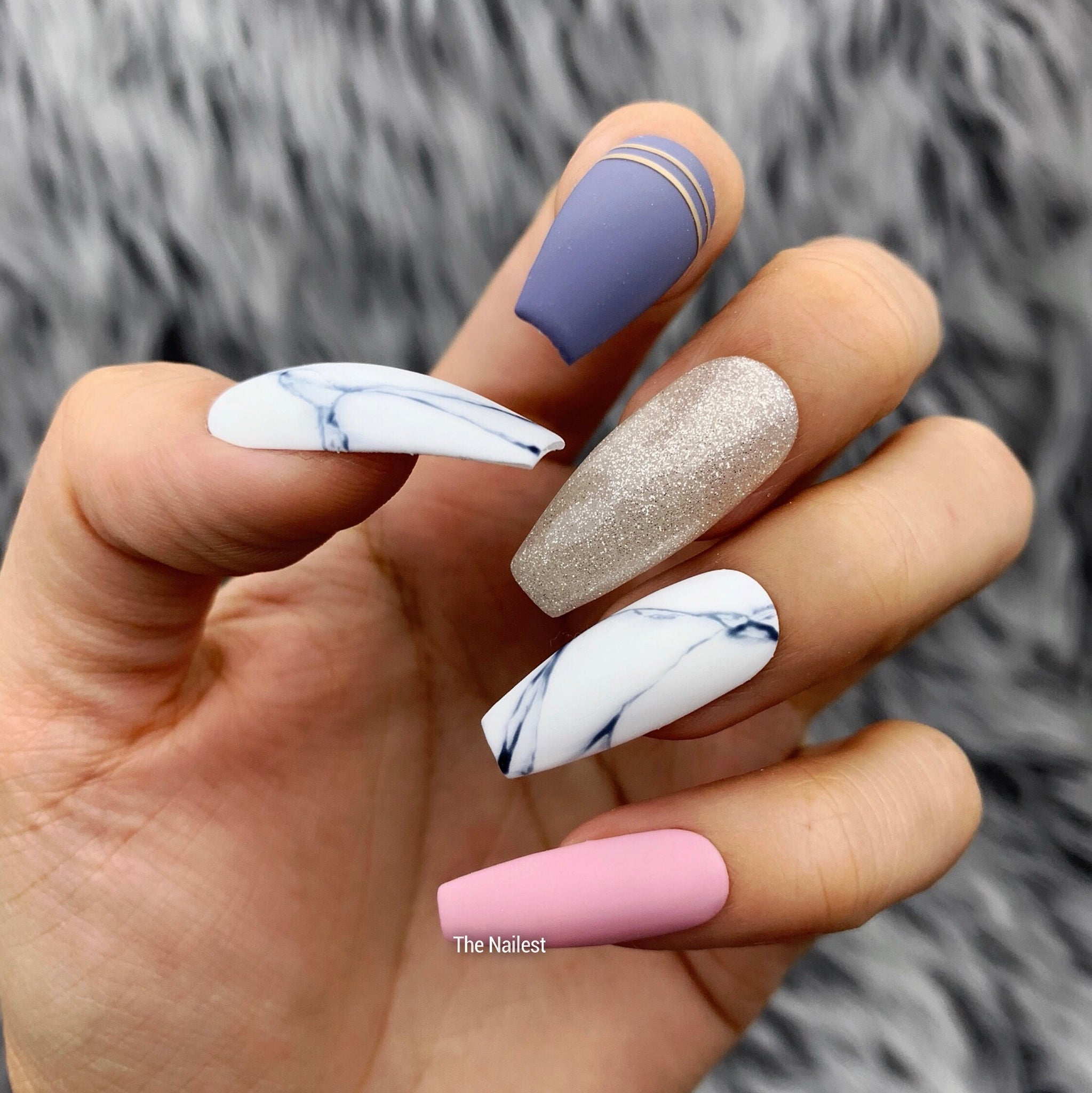LUV CRUSH PRESS ON NAIL SET