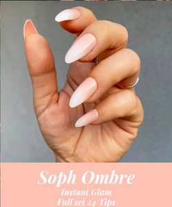 INSTANT GLAM- SOPHISTICATED OMBRÉ PRESS ON NAIL SET