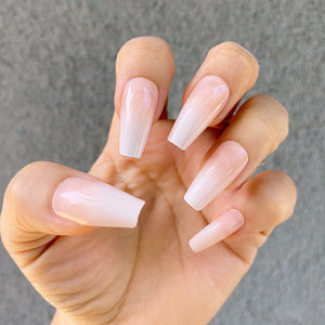 INSTANT GLAM- BABY BOOMER NUDE MEDIUM COFFIN OMBRÉ SET