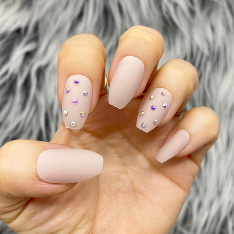 INSTANT GLAM- HONU BEIGE PRESS ON NAIL SET