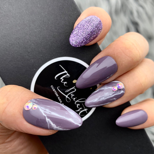 GLOSSY GRAPE MARBLE SURPRISE SET