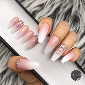 TRIPLE B- BABY BOOMER BLING CRYSTAL PRESS ON NAILS SET
