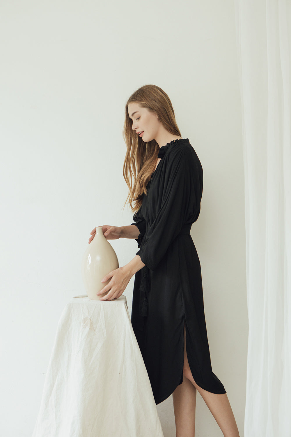 Isabelle Dress/ Black