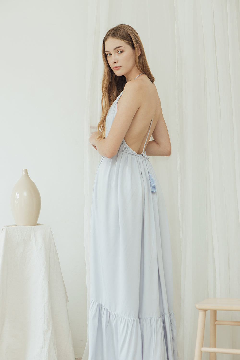 Brie Dress/ Bluebell