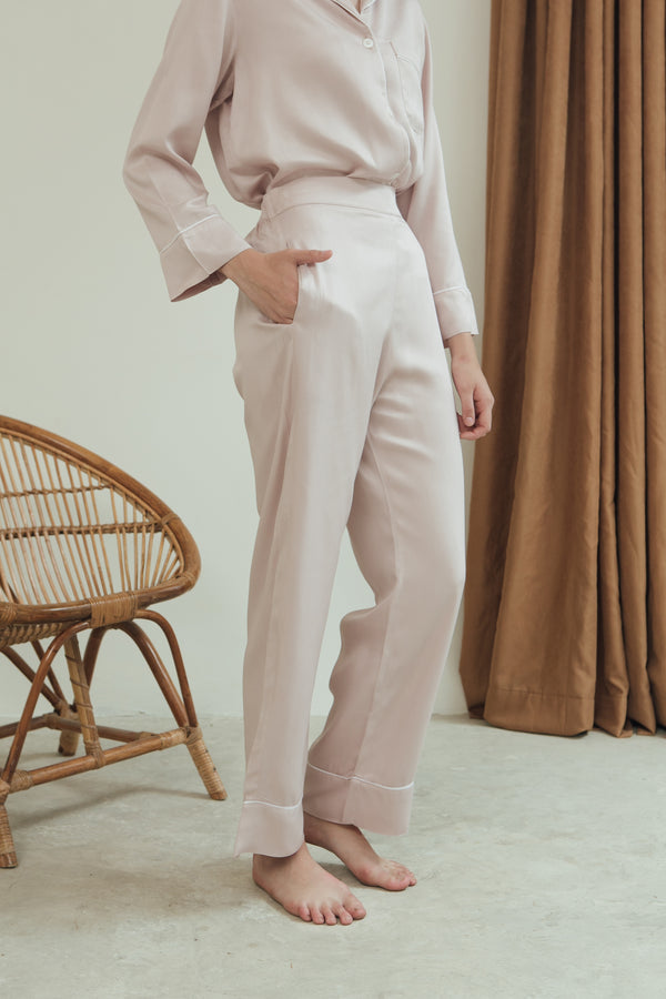Ella Trousers/ Blush