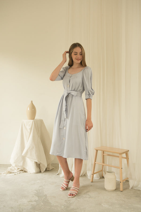 Luna Dress/ Bluebell