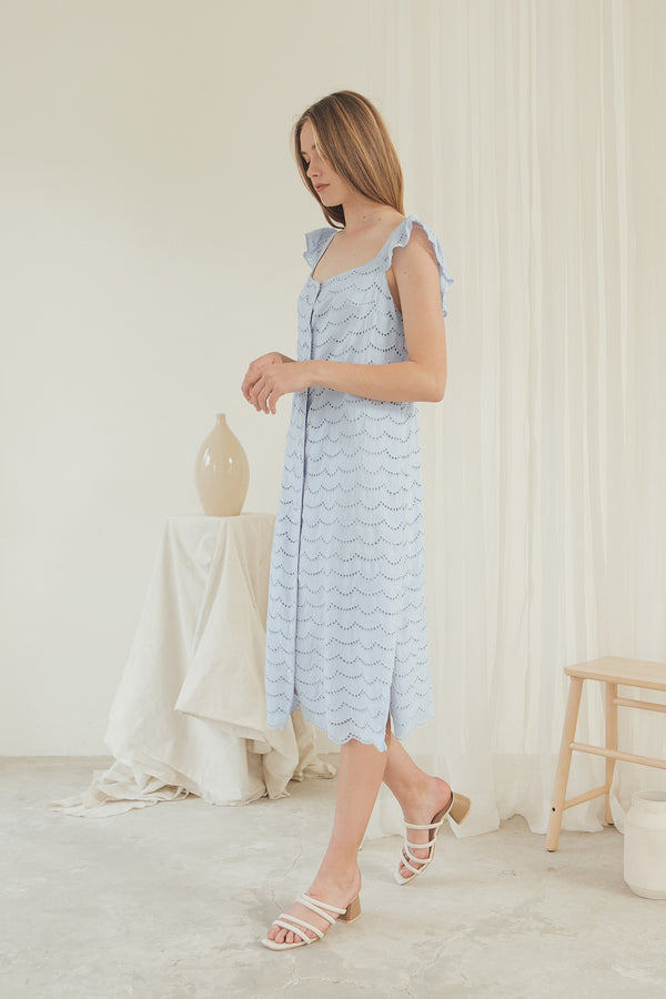 Giselle Dress/ Bluebell
