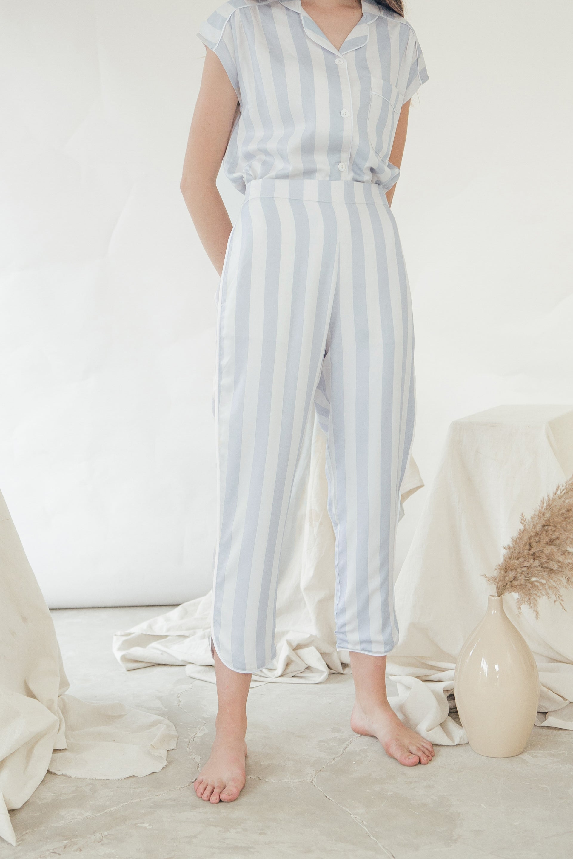 Alexis Pants/ Bluebell Stripes