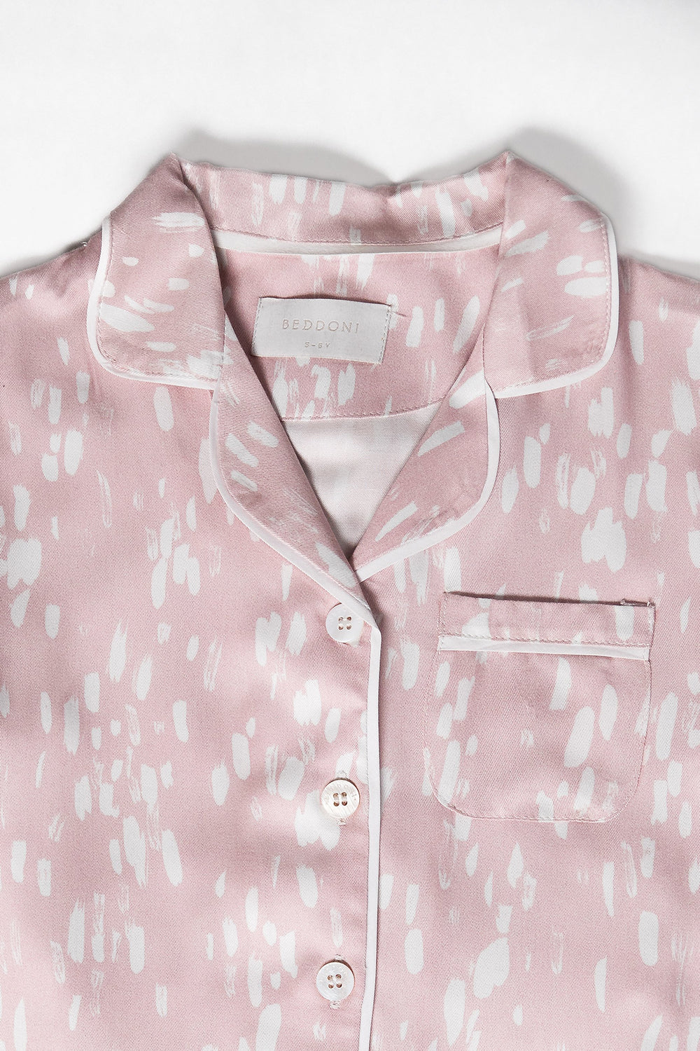 Riley PJ Set/ Blush Strokes