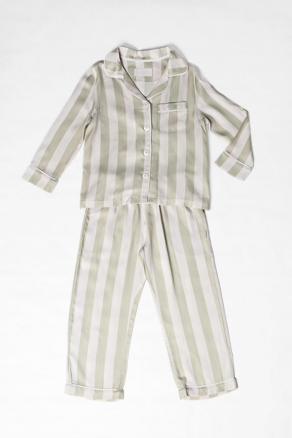 Riley PJ Set/ Sage Stripes
