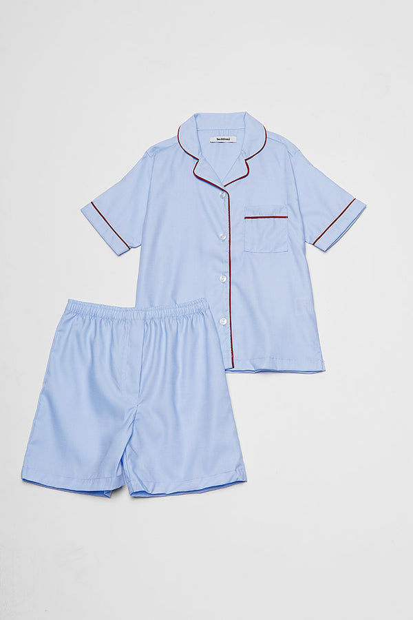 Florence Kid's PJ Set/ Periwinkle Blue