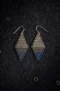 "Apo A Nani - Handmade Titanium Earrings #3 - ""Dipped in the Pacific"""