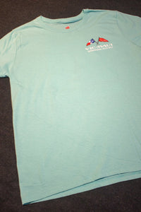 "VIC-MAUI - ""Crossing the Finish"" - T-Shirt - Short Sleeve - Womens'"