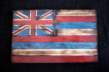 """Ka Hae Hawai'i"" - Wood Hawaiian Flag Wall Art - Handmade in Maui, Hawaii - West Maui Design Co."