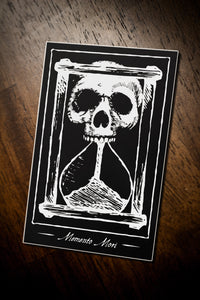 """Memento Mori"" - Vinyl Sticker from West Maui Design Co."