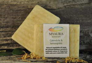 Calendula & Lemongrass Soap