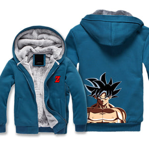 Ultra Instincts Goku Jacket - Dragon Ball Super Fleece Jackets - Hoodie Now