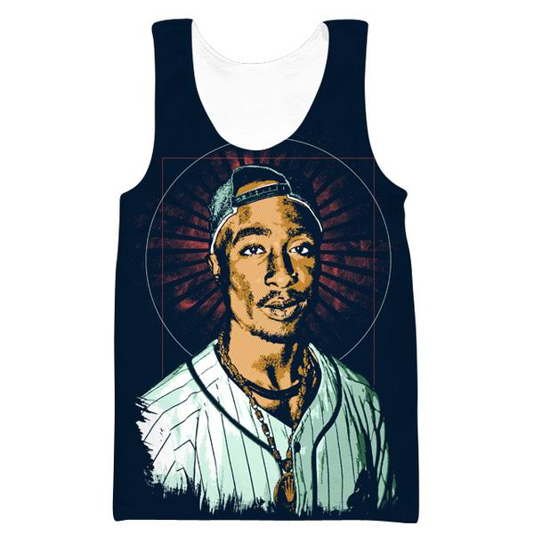 2Pac Tank Top - Hip Hop Rap Tupac Clothes - Hoodie Now