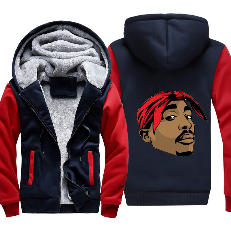 2pac fleece jacket