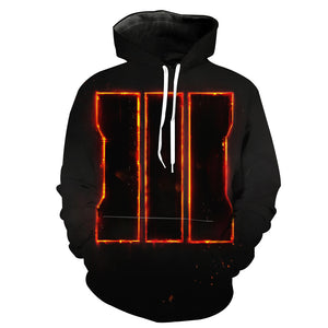 Call of Duty Hoodie - Black Ops 3 Symbol
