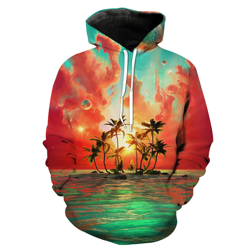 Paradise Island Hoodie - Utopia Epic Clothes - Hoodie Now