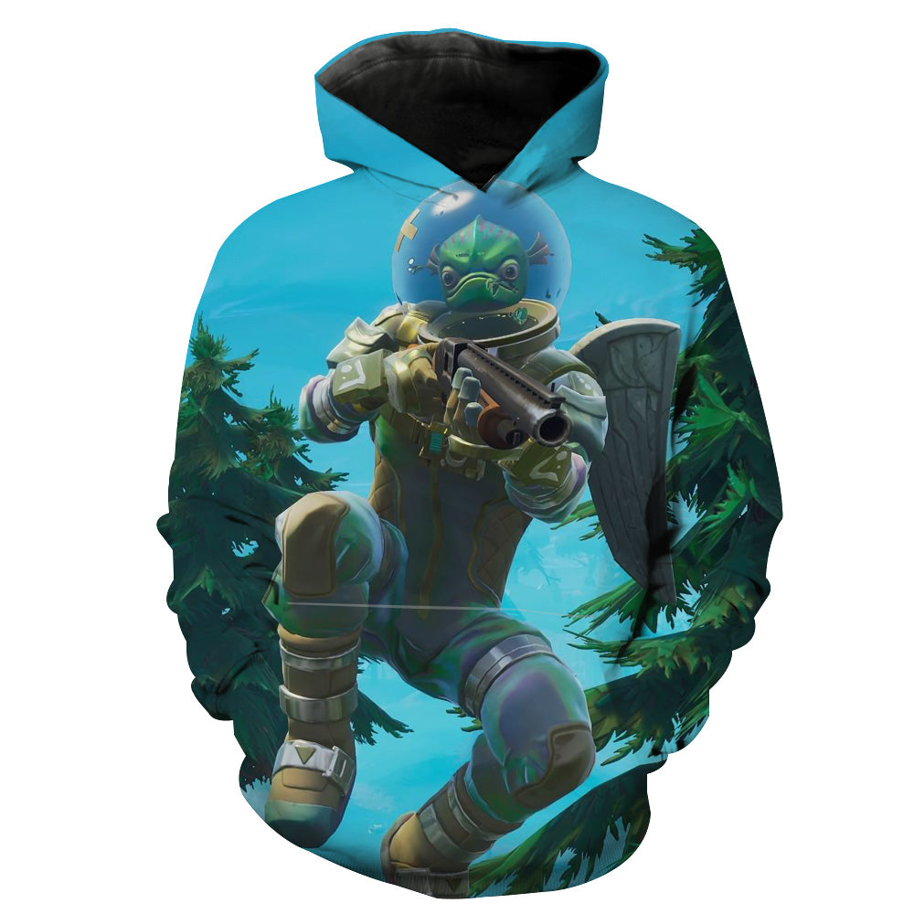 Leviathan Fortnite Skin Hoodie - Fortnite Clothing