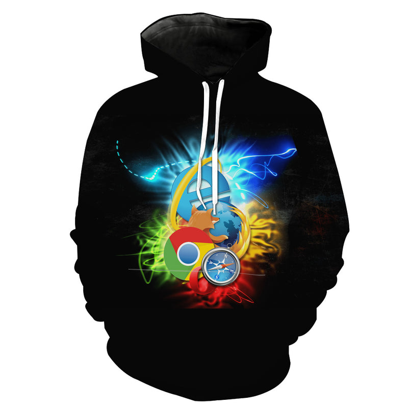 Internet Browsers Hoodie - Chrome, Firefox, IE Clothes - Hoodie Now