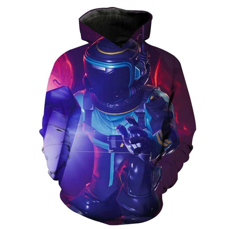 Dark Voyager Fortnite Skin Hoodie - Fortnite Clothing