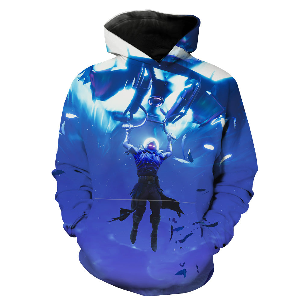 Fortnite Landing Raven Hoodie - Fortnite Clothing