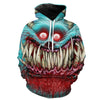 Creepy Monster HOodie
