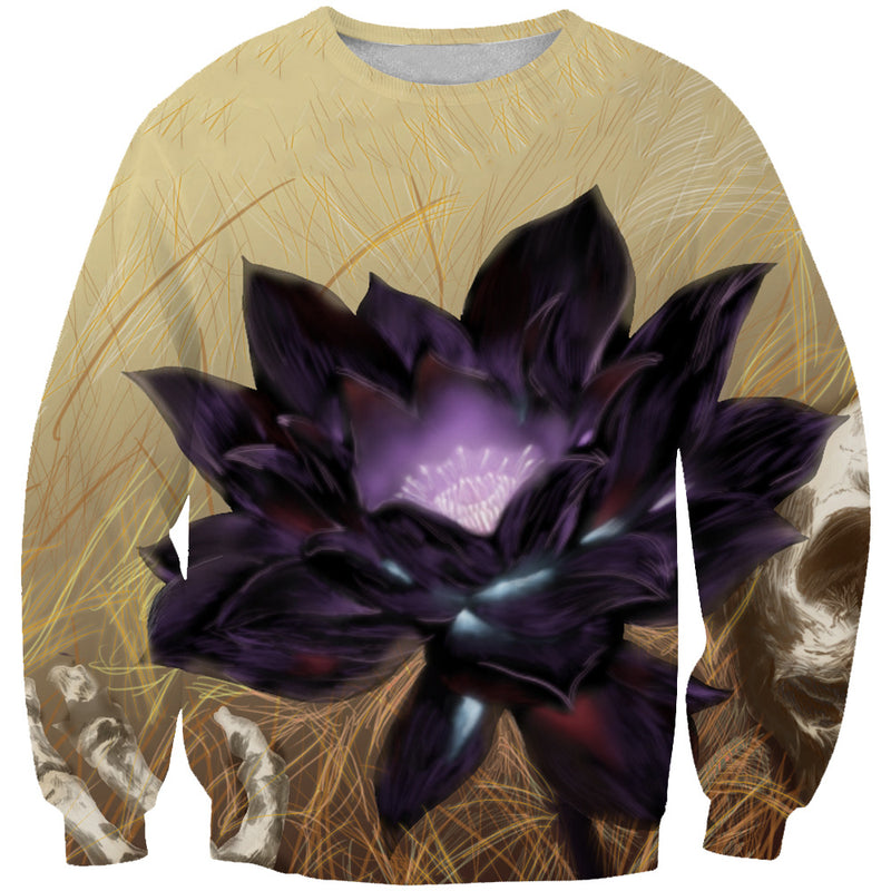Black Lotus Card Sweatshirt - Magic the Gathering Black Lotus Clothes - Hoodie Now