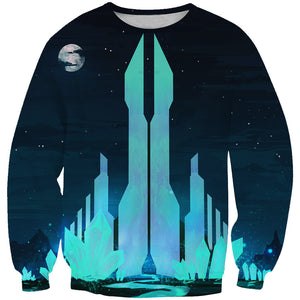Crystal City Sweatshirt - Fantasy Sweaters and Clothing