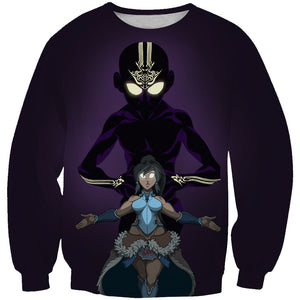 Korra and aang clothes