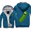 Pickle Rick Jacket - Rick and Morty Fleece Jackets