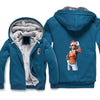 Merry Christmas Fortnite Jacket - Fortnite Fleece Jacket Hoodie