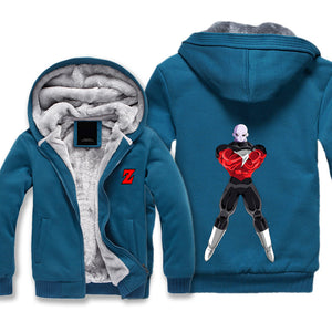 Dragon Ball Super Jiren Jacket Hoodie - Jiren Fleece Jacket Anime - Hoodie Now