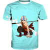 Aang T-Shirt - Cute Aang Avatar Last Airbender Clothing