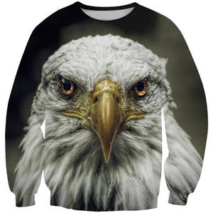 American Eagle Sweatshirt - Epic Animal Clothing - Hoodie Now