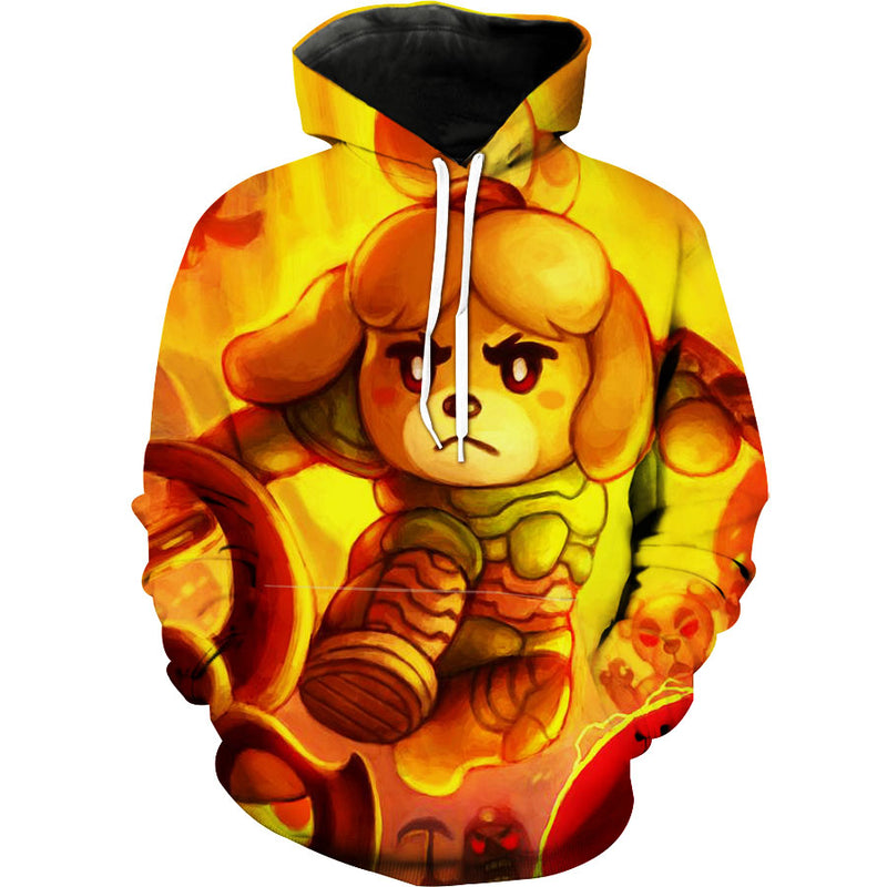 Animal Crossing Dog Hoodie - Animal Crossing 3D Hoodie - Hoodie Now