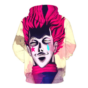 Hisoka Creepy Hoodies