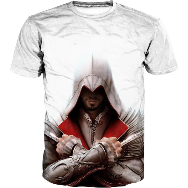 Assassin's Creed Dagger T-Shirt - Assassin Video Game Clothing - Hoodie Now
