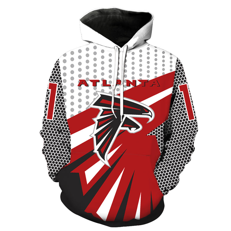 Atlanta Falcons Hoodie Pullover - NFL Football Hoodies